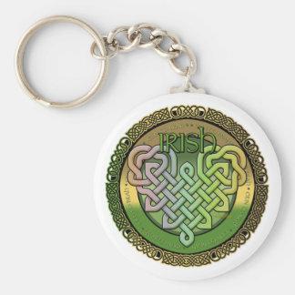 Irische keltische Knoten - St Patrick Tag Schlüsselanhänger