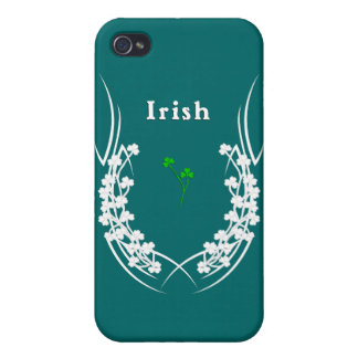 Irische Kleeblatt-Tätowierung iPhone 4/4S Cover