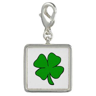 Irische Kleeblätter Charm