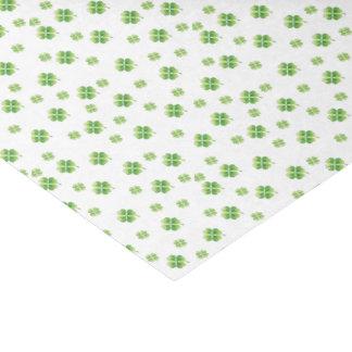 Irische Kleeblätter Seidenpapier