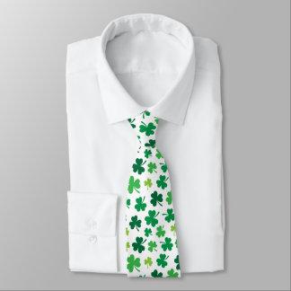 Irische Kleidung St. Patricks der Krawatte
