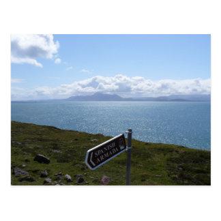 Irische Küste Postkarte
