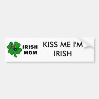 Irische Mamma Autoaufkleber
