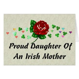 Irische Mamma Karte