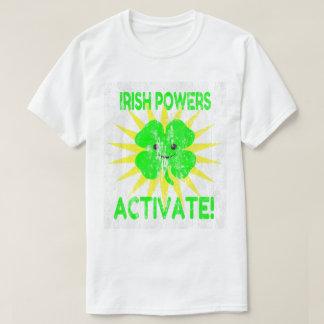 Irische Power aktivieren DS T-Shirt