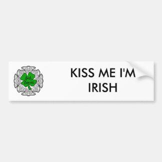 Irische Prinzessin Autoaufkleber