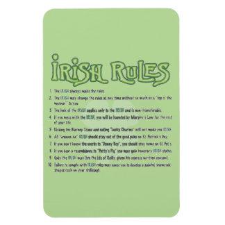 Irische Regeln Magnet