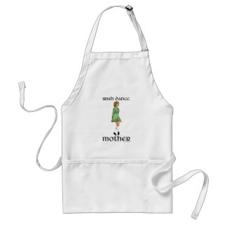 Irische Schritt-Tanz-Mutter - Grün Schürze