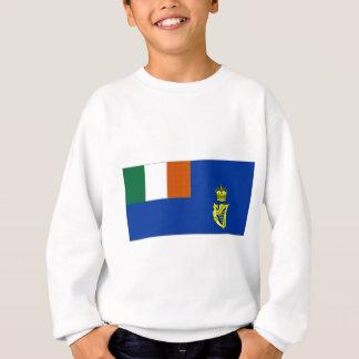 Irische Segeln-Flagge Sweatshirt