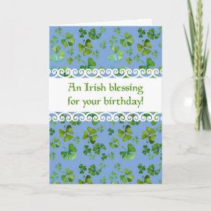Irischer Segen Karten Zazzlede