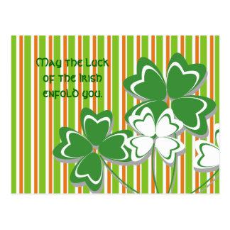 Irische Segen-Postkarten Postkarte