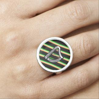 Irische Streifenflagge Foto Ringe