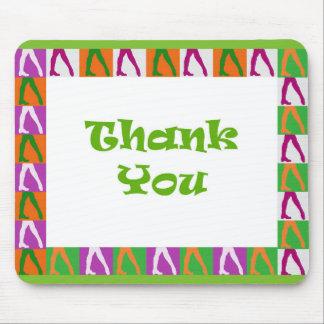 Irische Tänzer: Danke Mauspads