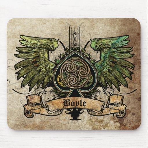 Irische Tätowierung städtisches Mousepad keltische