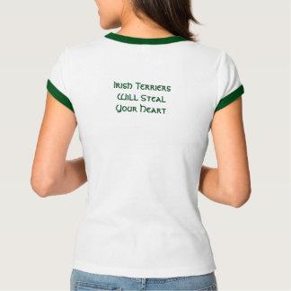 Irische Terrier stehlen Ihr Herz T-Shirt