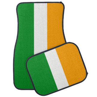 Irische Tricolor Flagge Irland ROIs Automatte