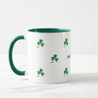 Irische und stolze Kleeblätter 3 Tasse