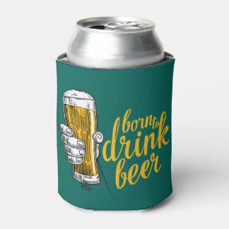 Irischen grünen St Patrick Tag geboren, Bier zu Dosenkühler