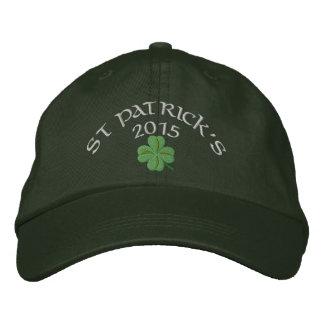 Irischen Kleeblatt St Patrick Tag Bestickte Baseballkappe