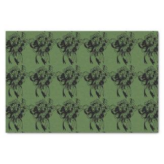 Irischen Kleeblatt-St Patrick Tagesseidenpapier Seidenpapier