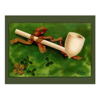 Irischen Rohr-St Patrick TagesVintage Postkarte