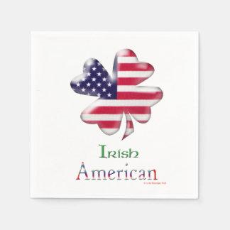 Irischer Amerikaner Papierservietten
