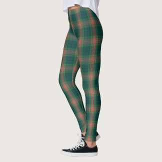Irischer Clan Gallagher Tartan kariert Leggings