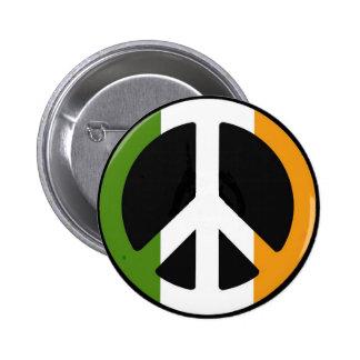 Irischer Frieden Runder Button 5,1 Cm