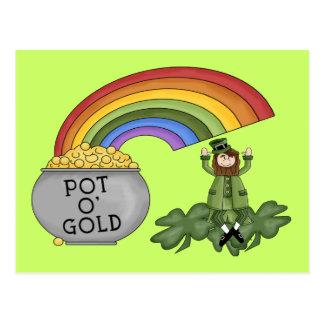 Irischer Goldschatz Postkarte