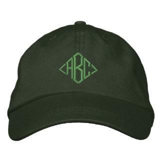 Irischer grüner kundenspezifischer mit Monogramm Bestickte Baseballkappe