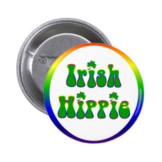 Irischer Hippie rund Anstecknadelbuttons
