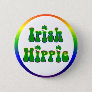 Irischer Hippie rund Runder Button 5,1 Cm