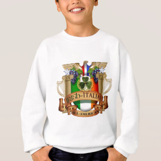 Irischer Italiener ganz amerikanisch Sweatshirt