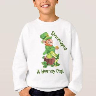 Irischer Kobold-Goldschatz Sweatshirt