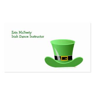Irischer Kobold-Hut-glücklichen St Patrick Tag Visitenkarte
