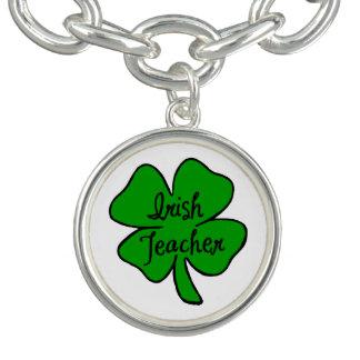 Irischer Lehrer Charm Armband