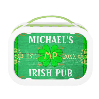 Irischer Pub schaffen Ihr eigenes personalisiertes Brotdose