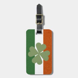 Irischer reizend glücklicher Klee Gepäckanhänger