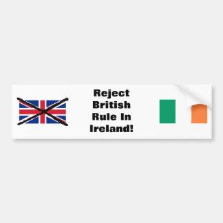 Irischer republikanischer Autoaufkleber