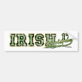 Irischer Rowdy-Aufkleber Autoaufkleber