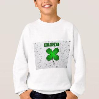 Irischer sich hin- und herbewegender Klee Sweatshirt