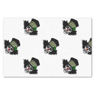 Irischer Skeleton Clown Seidenpapier