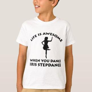 irischer stepdance Tanz T-Shirt