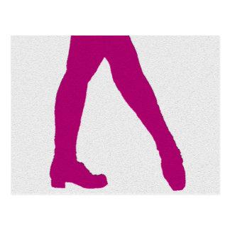 Irischer Tänzer Postkarte