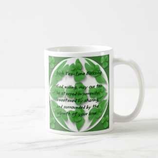 Irischer Tee-Timesegen Kaffeetasse