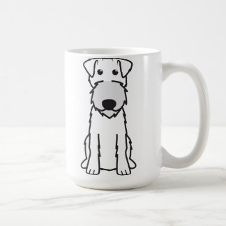 Irischer Terrier-HundeCartoon Kaffeetasse