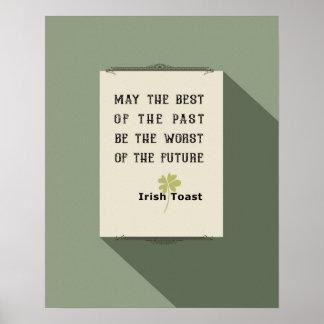 Irischer Toast Poster