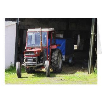 Irischer Traktor Karte