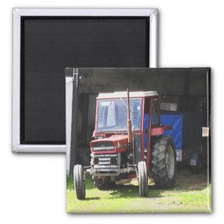 Irischer Traktor Quadratischer Magnet
