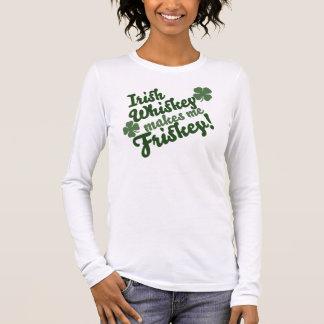 Irischer Whisky macht mich Friskey Langarm T-Shirt